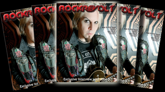 John 5 Rock Revolt Magazine Chad Lee Photography