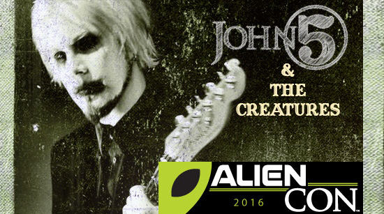 John 5 and The Creatures Alien Con
