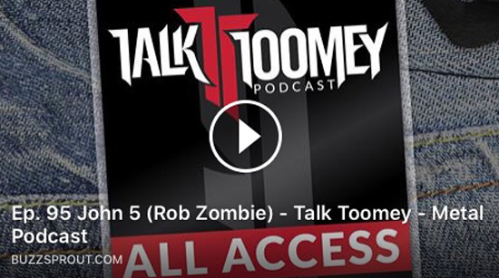 John 5 talk Toomey podcast