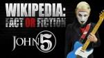 John 5 Loudwire Fact Fiction