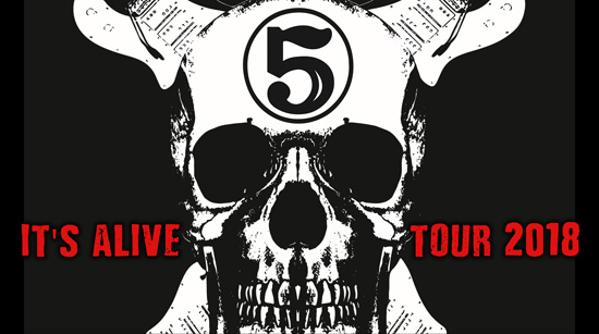 John 5 and The Creatures Its Alive tour