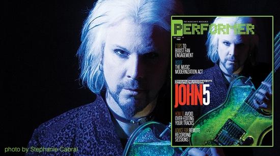 John 5 Performer Magazine