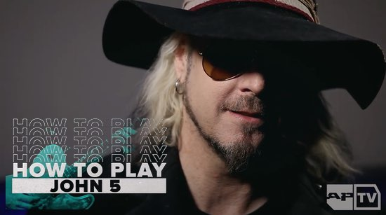 How to Play John 5 Alternative Press