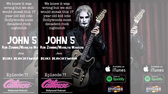 John 5 Cathouse Hollywood podcast
