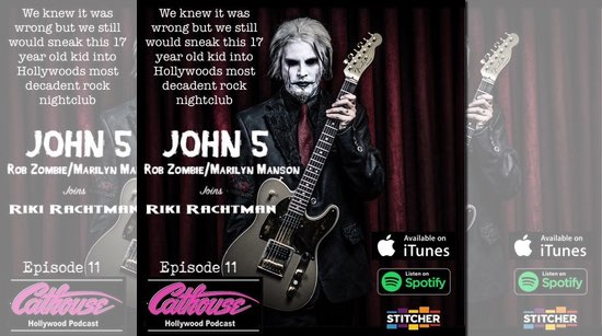 John 5 Cathouse Hollywood podcast