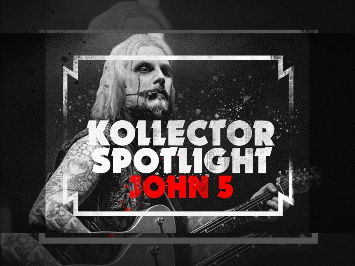 John 5 Kiss My Collection podcast
