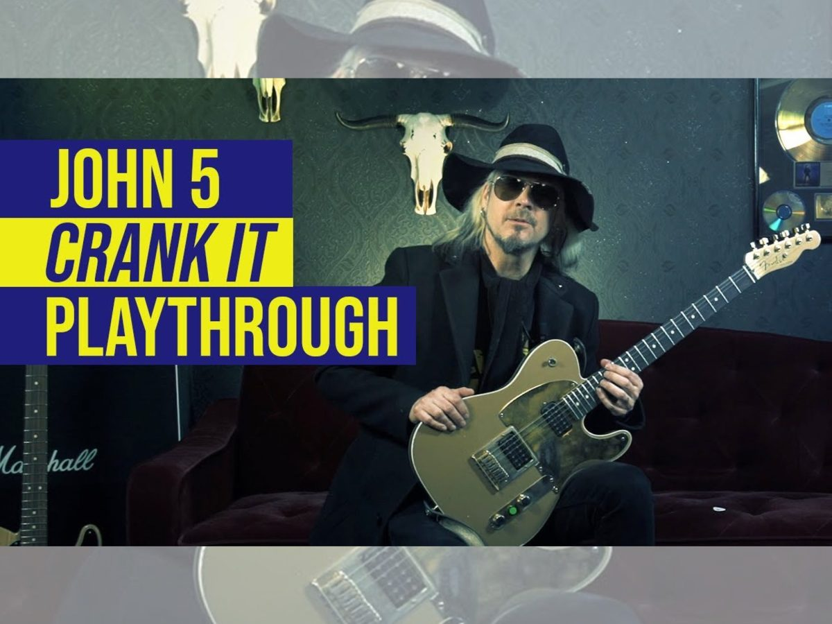 John 5 Crank It Guitar World