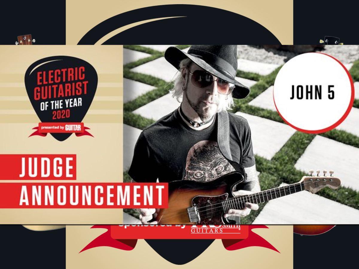 John 5 Judge Guitarist Of The Year 2020