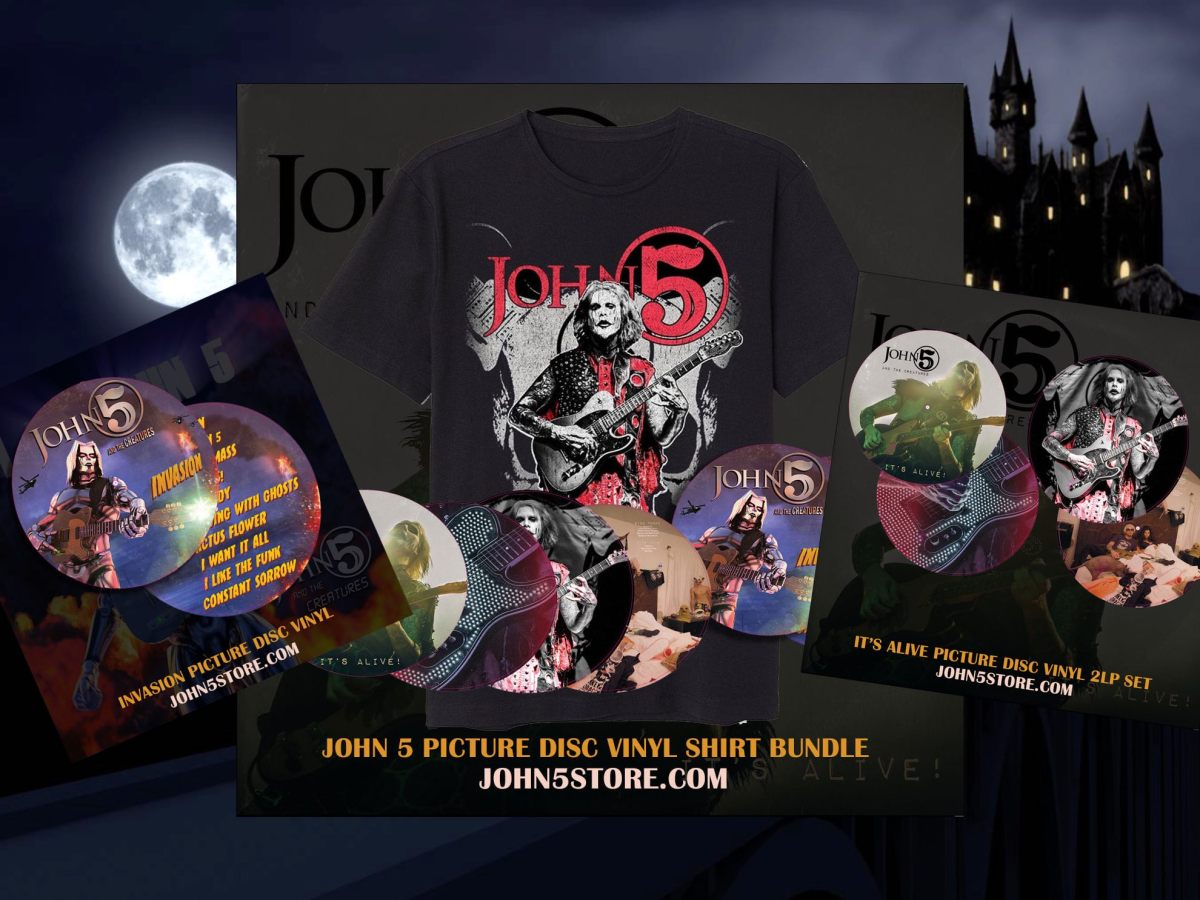 John 5 and The Creatures Picture Discs It's Alive Invasion Limited