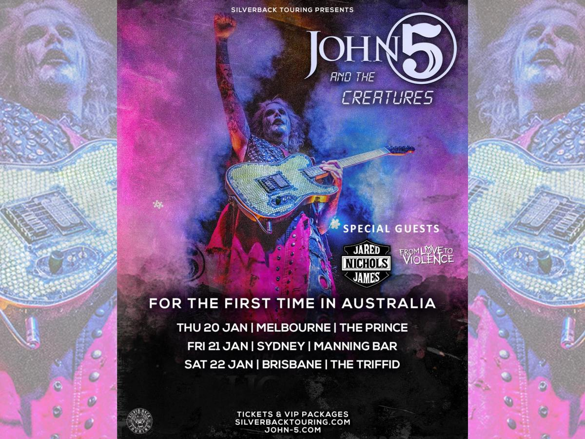 John 5 and The Creatures Australia 2022