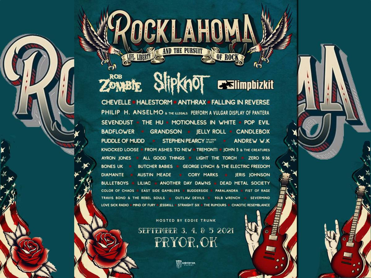 Rocklahoma 2021 John 5 and The Creatures Rob Zombie