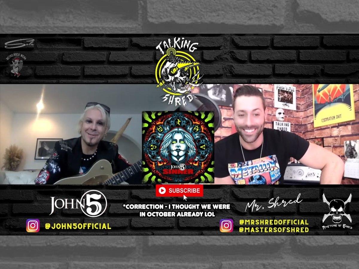 Talking Shred John 5 interview