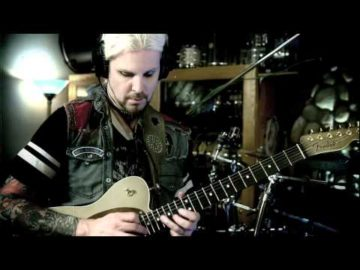 """John 5 LIVE """"This is my Rifle"""" Uncut Studio Sessions / COFFIN CASE"""