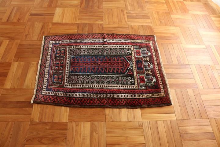 Baluch Tribal Rug 90×120cm_01