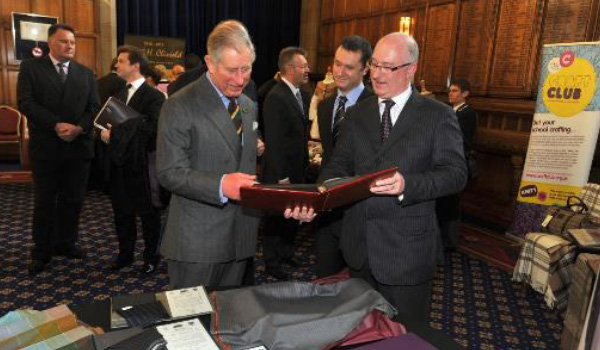 David Gallimore meets with Prince Charles