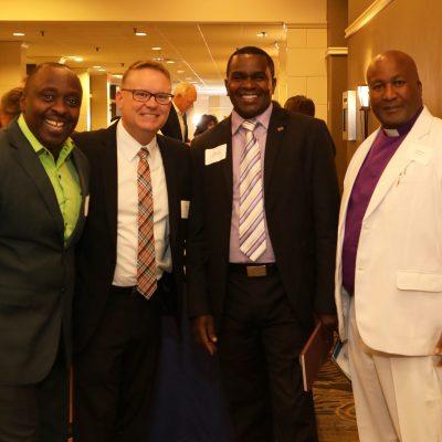 Pastors attending Annual Fundraising Dinner