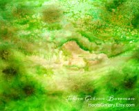 THE GREEN PAINTING
