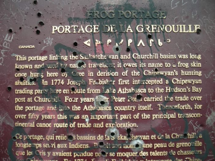 The plaque, still readable despite the best efforts of those who sadly don't appreciate their own history
