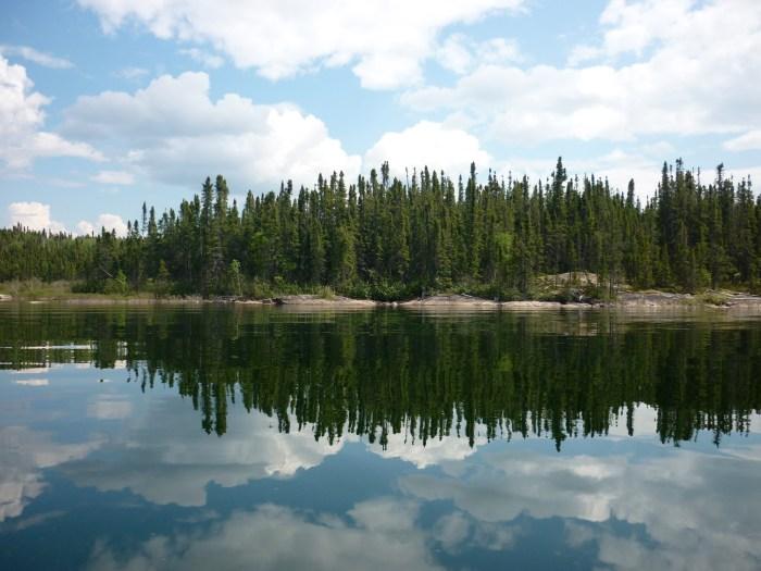 Typical scenery, Reindeer Lake