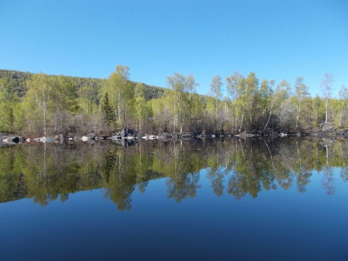 By late afternoon the wind had dropped off producing almost millpond conditions
