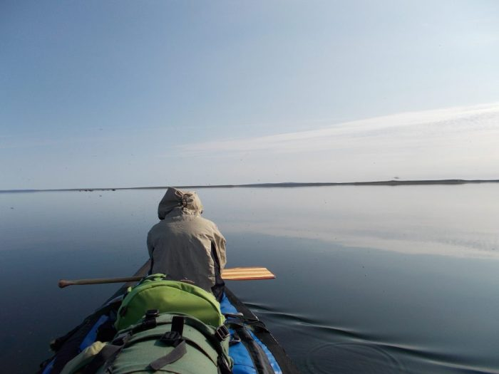 Heading north on a mirror like Marjorie Lake