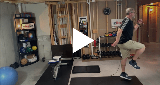 workouts and exercises modified burpees and high skipping
