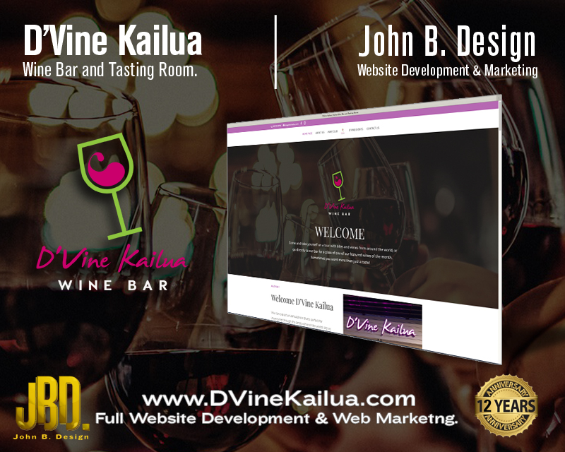 D'Vine Kailua Wine Bar and Tasting Room in Kailua.