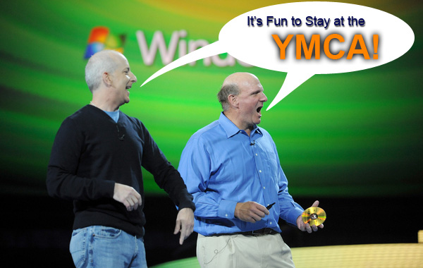 It's fun to run Windows 7!