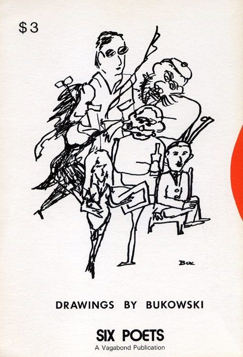 John Bennett | Six Poets | Vagabound Press 1979 | click the cover if you are interested in buying this book...