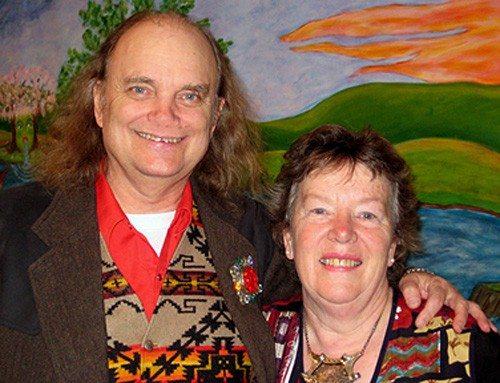 Dick & Jane at Jane's opening, Sarah Spurgeon Gallery, CWU, 2007