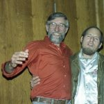 John Bennett & Nick Muska -- at days of rain & fire: d.a. levy 20 years after October 7, 8, 9, 1988. Photo by Mark Weber