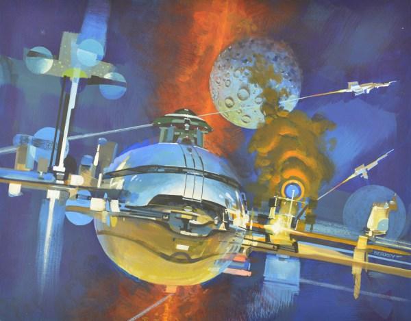 John Berkey Art . - Space Studies