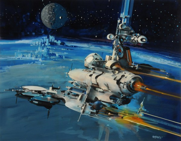 John Berkey Science Fiction Art