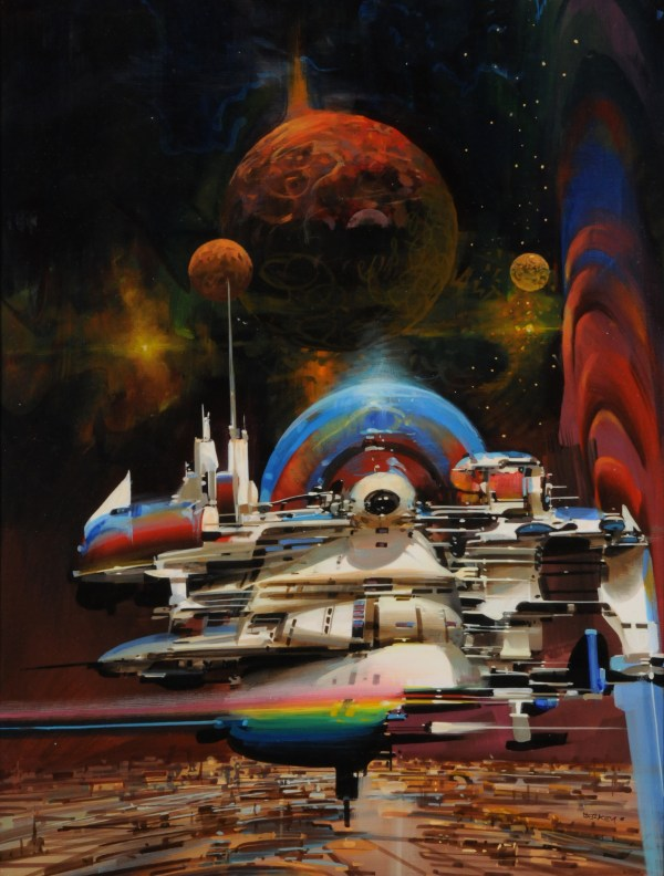 John Berkey Art . - Space