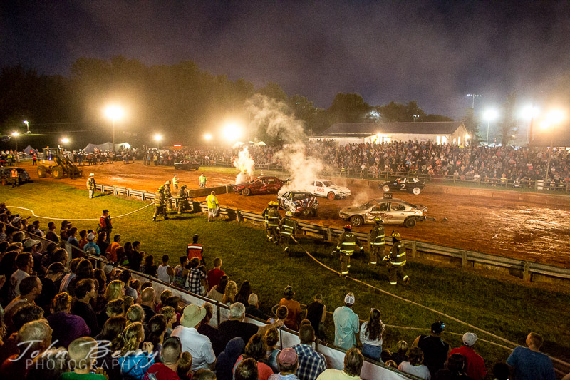 July 19, 2014.  Madison County Fair.  Saturday.
