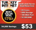 Dedicated Server Dual Hexa Core 32gb