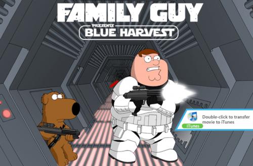 Blue Harvest Digital Copy DVD