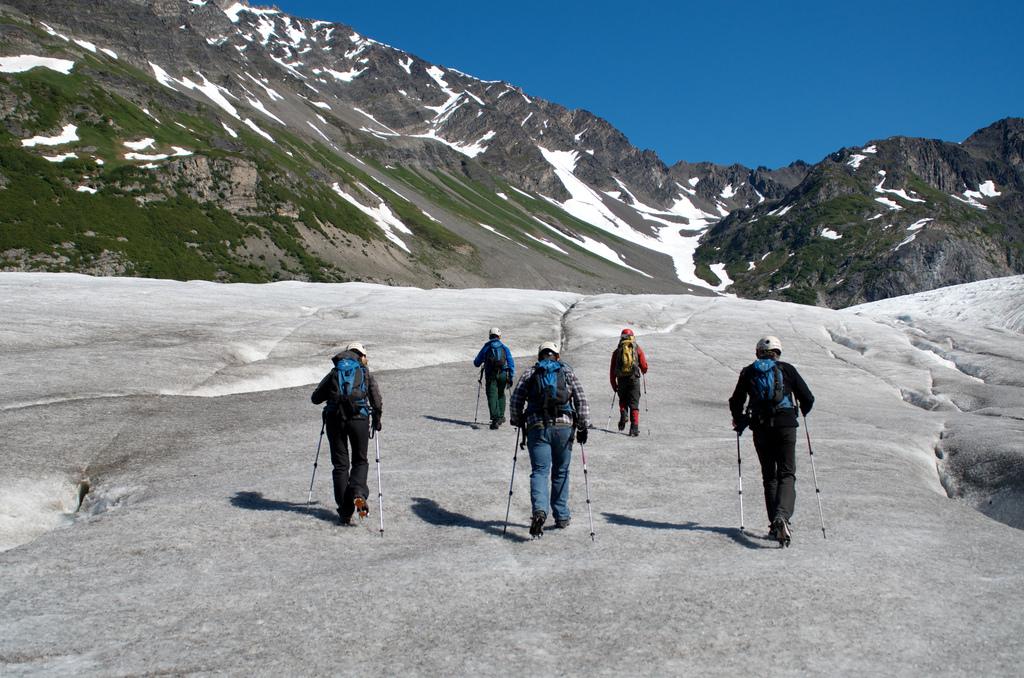 Glacier Ice Hiking In Seward, Alaska