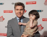 Victor Lucas (Electric Playground) & his daughter Ruby