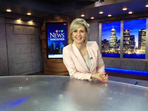 Coleen on the CTV News set