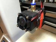 Extruder w/30mm fan
