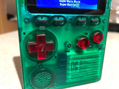 Customizing the Odroid Go handheld gaming system