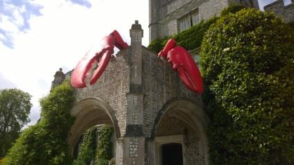 Lobster claws in situ