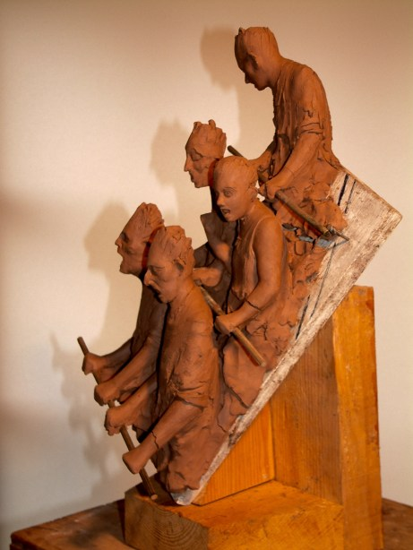 Maquette for roller coaster