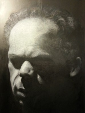 Portrait of Nathan Pastel on canvas