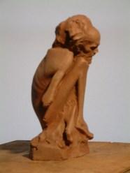 Crossed legged maquette