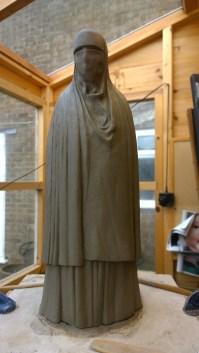 Burka maquette