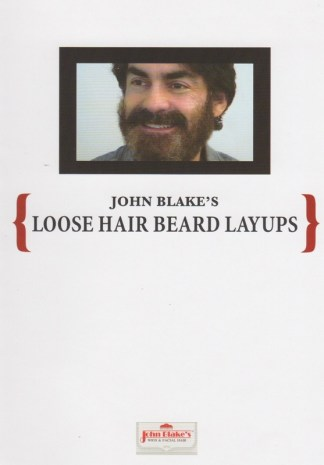 DVD John Blake film quality Teaching loose hair beard layups cover