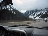 Crusing down Highway 5...