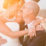 Sun drenched Sonoma California wedding